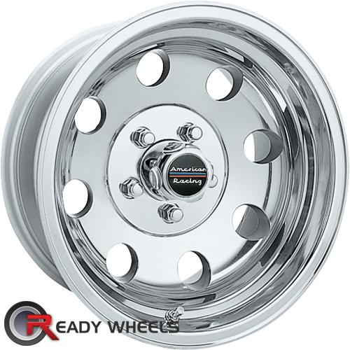 AMERICAN RACING Baja Polished 8-Spoke -6 15 5x114