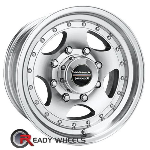 AMERICAN RACING Ar-23 Machined w/ Silver 5-Spoke -44 15 5x114