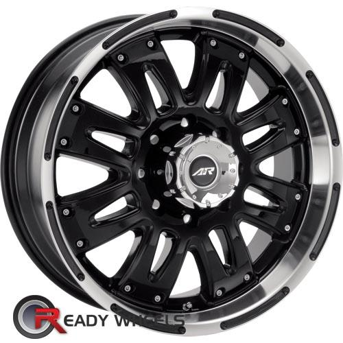 AMERICAN RACING Assault Black Gloss 8-Spoke 25 17 5x127