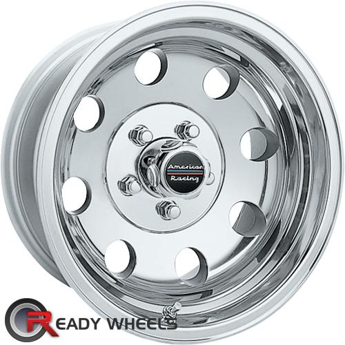 AMERICAN RACING Baja Chrome 8-Spoke -6 15 5x114 + Nankang N605 195/50/15 ALL-SEASON