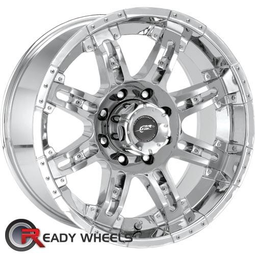 AMERICAN RACING Cannon Chrome 8-Spoke -6 17 5x114