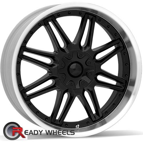AMERICAN RACING Cartel Black Gloss 8-Spoke 25 17 5x115