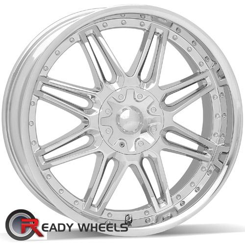 AMERICAN RACING Cartel Chrome 8-Spoke 25 17 5x114