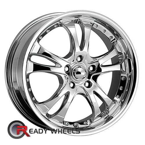 AMERICAN RACING Casino Chrome 5-Spoke 42 16 4x100