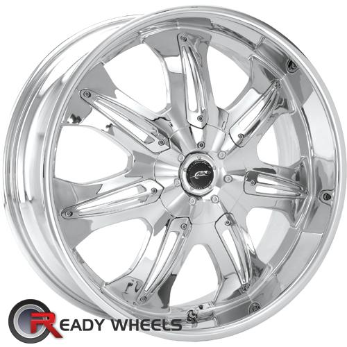 AMERICAN RACING Hustler Chrome 7-Spoke 40 18 4x100