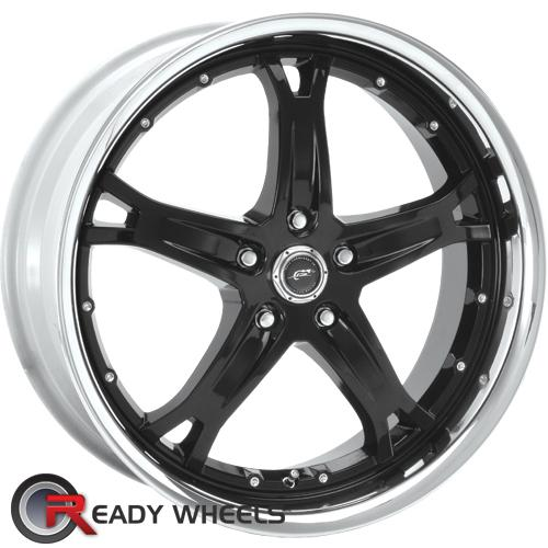 AMERICAN RACING Killer Black Gloss 5-Spoke 25 17 5x114 + Sunny SN380 205/40/17