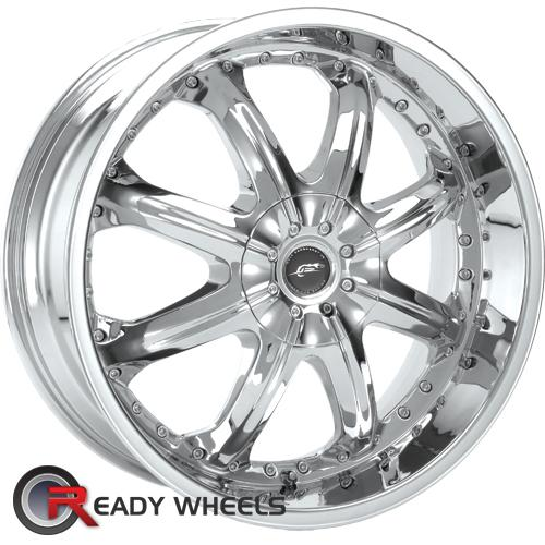 AMERICAN RACING Octane Chrome 8-Spoke 25 17 5x114