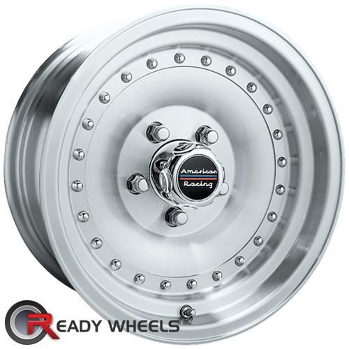 AMERICAN RACING Outlaw I Machined w/ Silver Full-Face 14 5x114