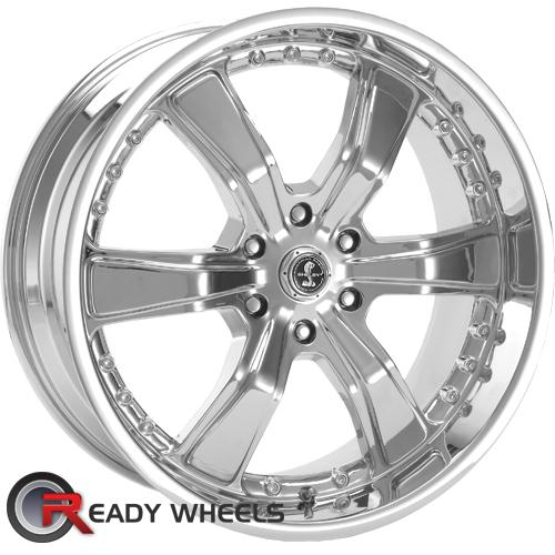 AMERICAN RACING Razor 6 Shelby Chrome 6-Spoke 30 20 6x135