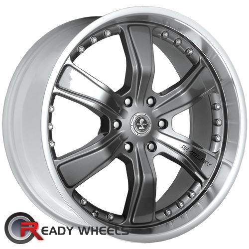 AMERICAN RACING Razor 6 Shelby Gunmetal Gloss 6-Spoke 30 20 6x135