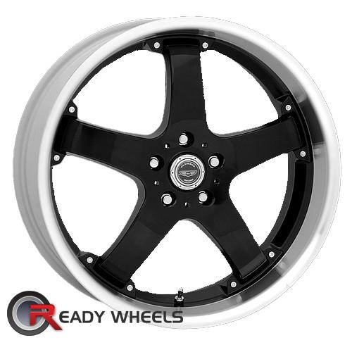 AMERICAN RACING Rebel Black Gloss 5-Spoke 24 17 5x114