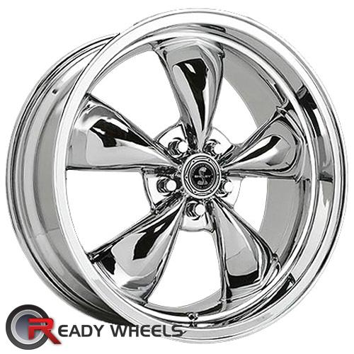 AMERICAN RACING Torq-Thrust M Shelby Chrome 5-Spoke 17 5x114