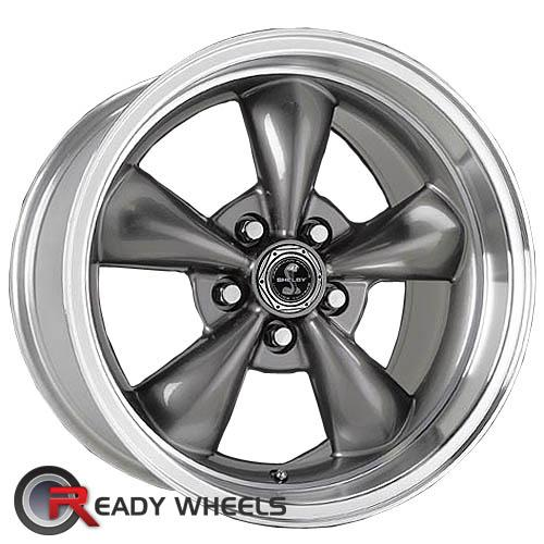 AMERICAN RACING Torq-Thrust M Shelby Gunmetal Gloss 5-Spoke 17 5x114