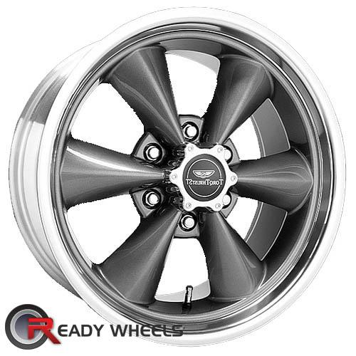 AMERICAN RACING Torq-Thrust St Gunmetal Gloss 6-Spoke 30 20 6x135 + Delinte D7 245/35/20
