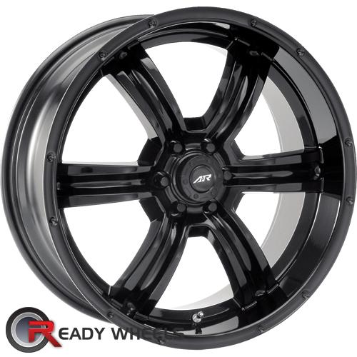 AMERICAN RACING Trench Black Gloss 6-Spoke 12 16 6x114
