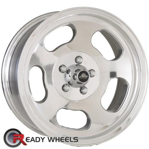AMERICAN RACING VINTAGE Ansen Sprint Machined w/ Silver 5-Spoke 15 4x108
