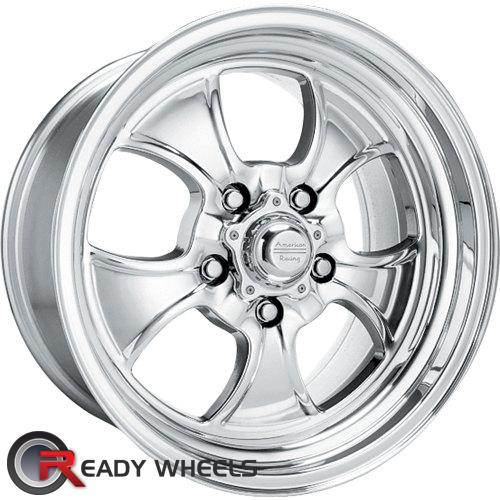 AMERICAN RACING VINTAGE Hopster Polished 5-Spoke -6 15 5x114