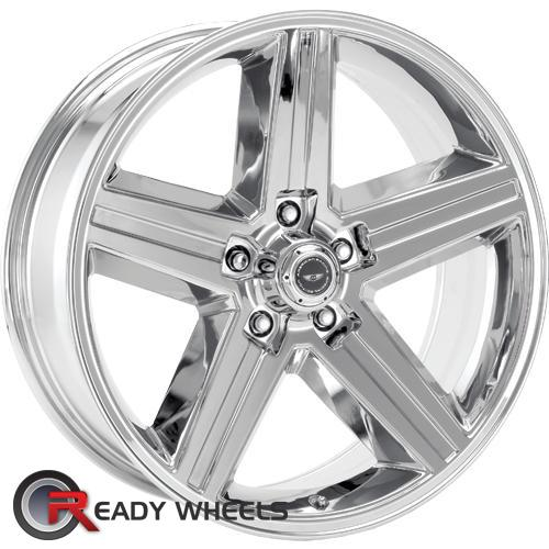 AMERICAN RACING VINTAGE Iroc Replica  Chrome 5-Spoke 18 5x120 + Delinte D7 225/40/18