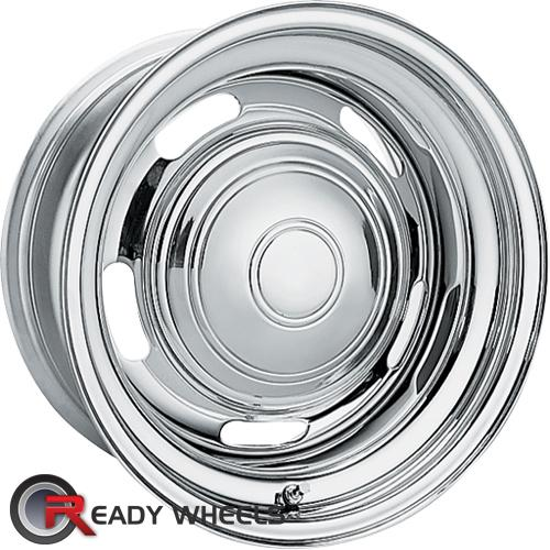 AMERICAN RACING VINTAGE Rally Wheel Chrome 5-Spoke 6 15 5x114
