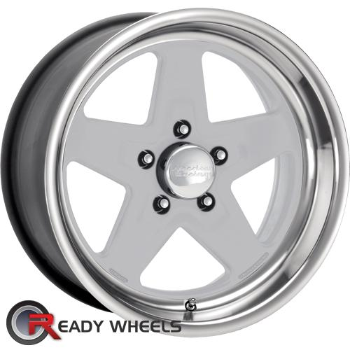 AMERICAN RACING VINTAGE Torqlite Silver Gloss 5-Spoke 15 5x114