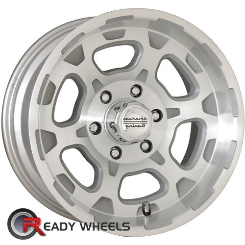 ATX OFF-ROAD Chamber Machined w/ Silver 6-Spoke -19 15 5x114