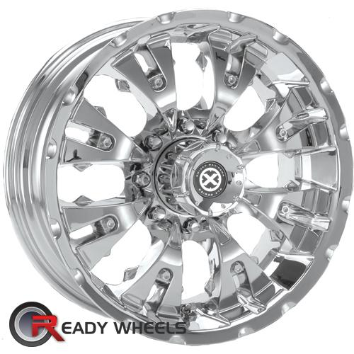ATX OFF-ROAD Mace Chrome 6-Spoke -6 17 6x139