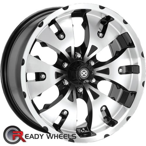 ATX OFF-ROAD Mace Machined w/ Black 6-Spoke 6 17 6x135