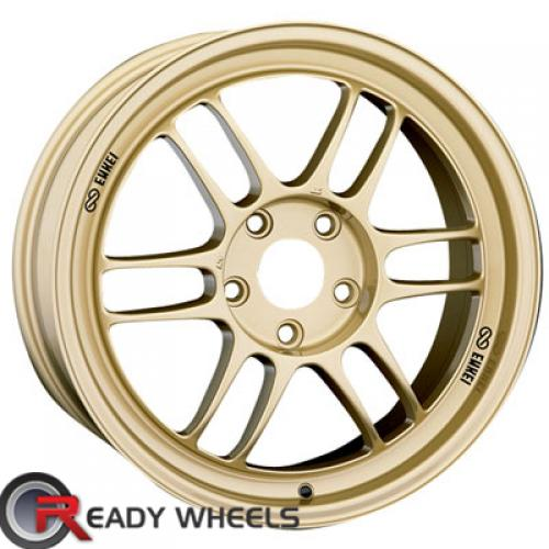 ENKEI Rpf1 Gold Gloss 6-Spoke Split 45 17 5x100 + Sunny SN380 205/40/17