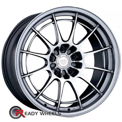 ENKEI Nt03 Plus M Hyperblack Multi-Spoke 45 17 4x100