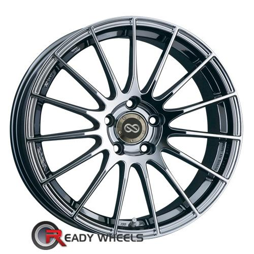 ENKEI RS05 Chrome SBC Multi-Spoke 35 18 5x110 + Delinte D7 225/40/18