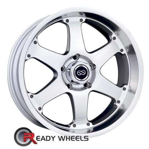 ENKEI Rt6 Machined w/ Silver 6-Spoke 18 5x114 + Delinte D7 225/40/18