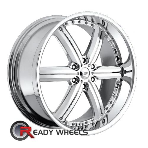 CONCEPT NEEPER JAVV (6-LUG) Chrome 6-Spoke 30 22 6x135