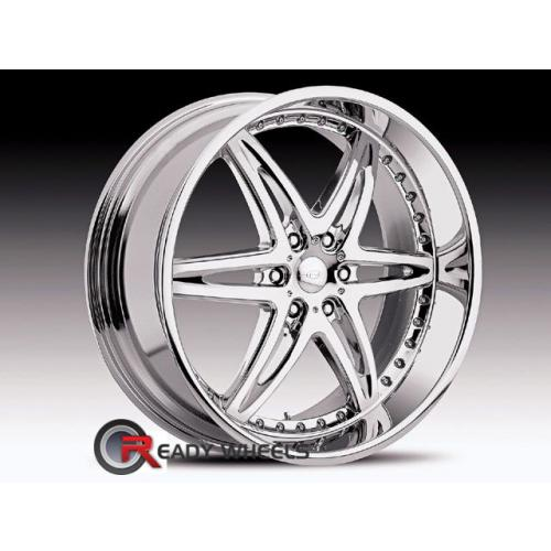 CONCEPT NEEPER MOXY (6-LUG) Chrome 6-Spoke 28 22 6x135