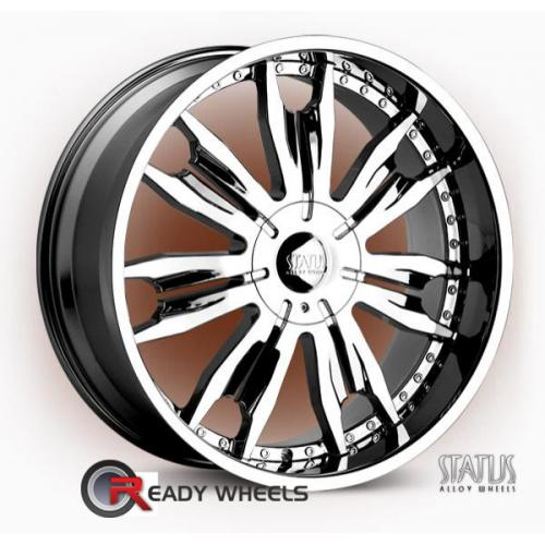 STATUS Duke Chrome 7-Spoke 15 20 5x114
