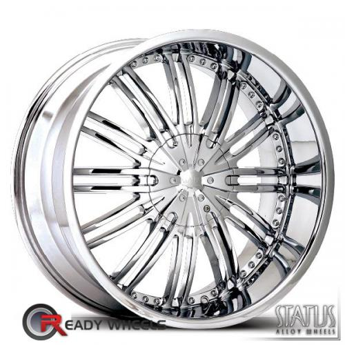 STATUS Knox  Chrome 8-Spoke Split 35 20 5x114