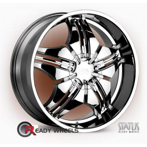 STATUS Saint  Chrome 5-Spoke Split 35 20 5x114