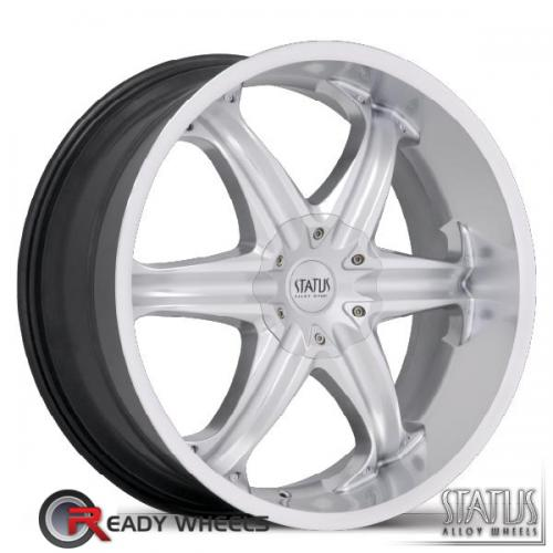STATUS Vice Hypersilver 6-Spoke 15 20 5x114
