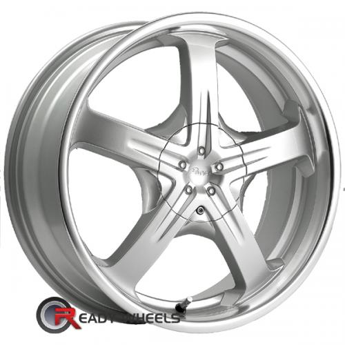 PACER Reliant (774) Silver Gloss 5-Spoke 7 15 4x100