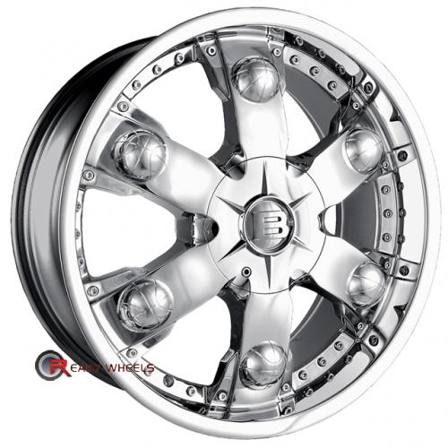 BACCARAT ATHLETE 2150  Chrome 6-Spoke 20 5x108