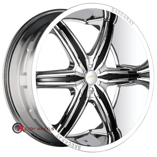 BACCARAT OUTRAGE 2160  Chrome 6-Spoke 22 5x115
