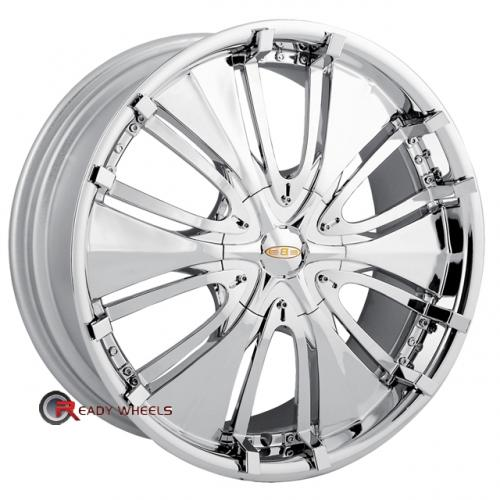 BACCARAT PASSION 1130  Chrome Full-Face 18 4x100