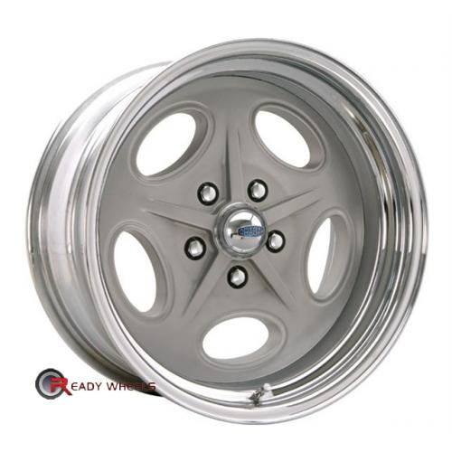 CRAGAR 391G - Bonneville Grey Full-Face 15 5x114