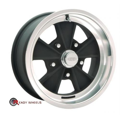 CRAGAR 500B - Eliminator Flat Black 5-Spoke 15 5x114