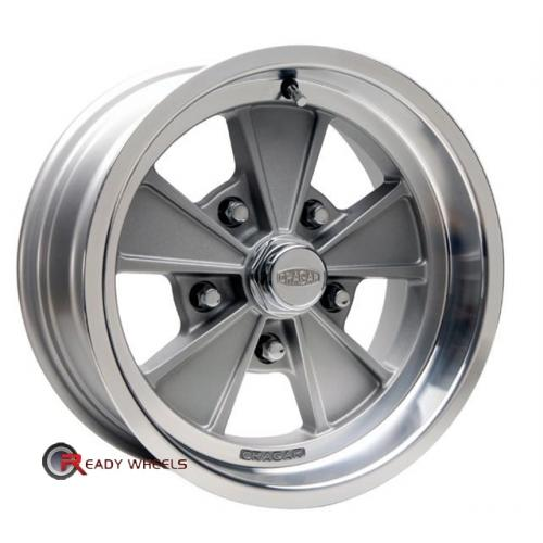 CRAGAR 500G - Eliminator Grey 5-Spoke 15 5x114