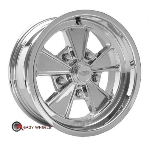 CRAGAR 500P -Eliminator Polished 5-Spoke 15 5x114
