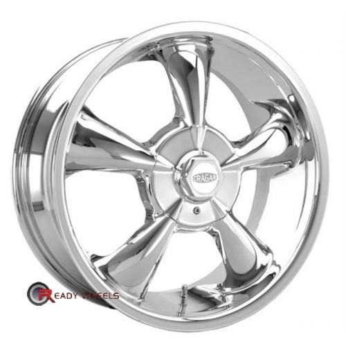 CRAGAR 600C -SS FWD Chrome 5-Spoke 17 4x100