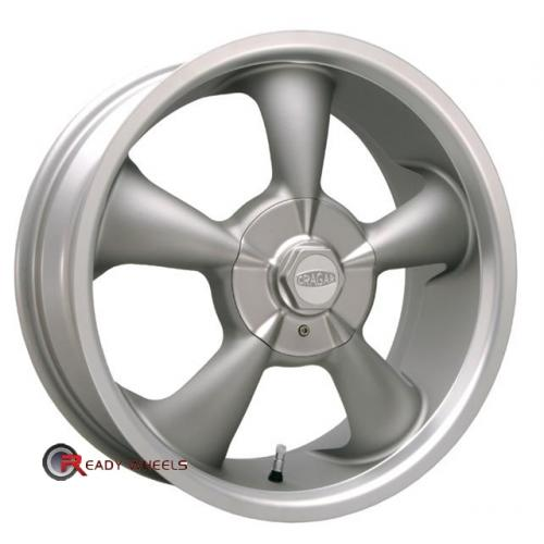 CRAGAR 600G -SS FWD Grey 5-Spoke 17 4x100