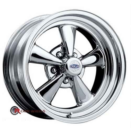 CRAGAR 61 - SS Chrome 5-Spoke 14 5x114