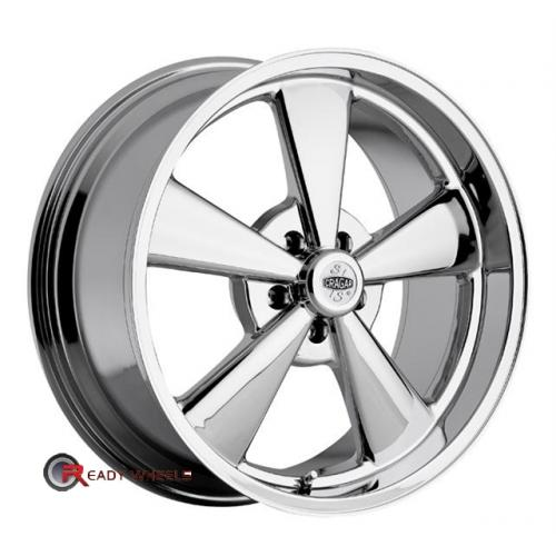 CRAGAR 610C - SS Chrome 5-Spoke 15 5x114