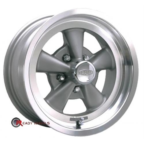 CRAGAR 610G - SS Grey 5-Spoke 15 5x114